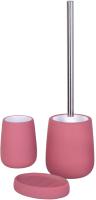 Набор аксессуаров для ванной и туалета АкваЛиния Soft B4333A/3 (мокачино) -