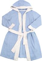 Халат детский Mark Formelle 553303 (р.92-52, голубой меланж) -