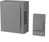 Электрический звонок Elektrostandard DBQ26M WM 1M IP44 (серый) -