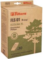 Комплект пылесборников для пылесоса Filtero ECOLine FLS 01 S-Bag (10шт+фильтр) -