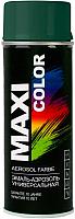 Эмаль Maxi Color 6005MX RAL 6005 (400мл, темно-зеленый) -