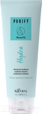 Кондиционер для волос Kaaral, hydra conditioner увлажняющий для сухих волос (75мл), Италия  - купить со скидкой
