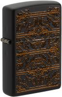 Зажигалка Zippo Circuit Pattern / 49572 (черный матовый) -