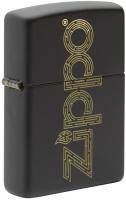 Зажигалка Zippo Design / 49598 (черный матовый) -