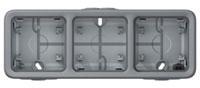 Подрозетник Legrand Plexo 69680 (серый) -