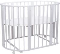 Детская кровать-трансформер Tomix Malta 8 в 1 / ТК-001 (белый) -