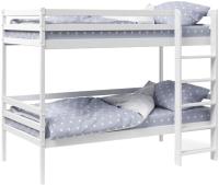 Двухъярусная кровать детская Tomix Twin / Р426 (белый) -