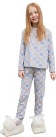 Пижама детская Mark Formelle 567726 (р.104-56, зверята на сером) -