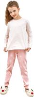 Пижама детская Mark Formelle 567726 (р.116-60, розовый в звезды/мелкая розовая полоска) -