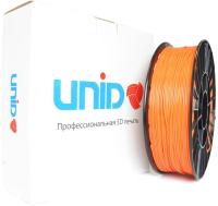 Пластик для 3D печати Unid PLA 1.75мм 0.8кг / UPLA0807 (оранжевый) -