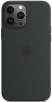 Чехол-накладка Apple Leather Case With MagSafe для iPhone 13 Pro Max / MM1R3 (Midnight) -