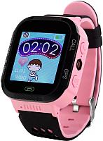 Умные часы детские Wonlex GW500S (розовый) -