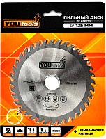 Пильный диск Yourtools Z36 125/22мм -