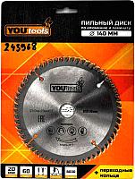 Пильный диск Yourtools Z60 140/20мм -