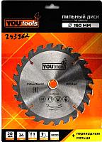 Пильный диск Yourtools Z24 160/20мм -