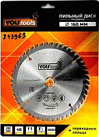 Пильный диск Yourtools Z48 160/20мм -