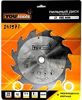 Пильный диск Yourtools Z12 190/30мм -