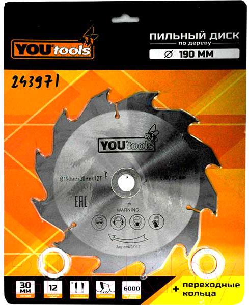 Купить Пильный диск Yourtools, Z12 190/30мм, Китай