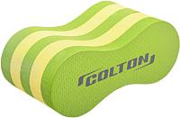Колобашка для плавания Colton SP-101 (лайм/желтый) -