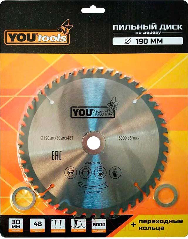 Купить Пильный диск Yourtools, Z48 190/30мм, Китай