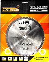 Пильный диск Yourtools Z80 190/30мм -