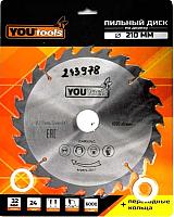 Пильный диск Yourtools 210/32мм Z24 -