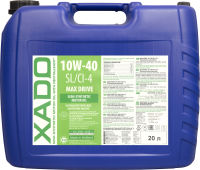 Моторное масло Xado Atomic Oil 10W40 SL/CI-4 / ХА 28509_1 (20л) -
