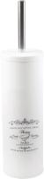 Ершик для унитаза АкваЛиния B1040D (белый металл) -
