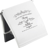 Держатель для туалетной бумаги АкваЛиния B3408P-S-W (белый металл) -