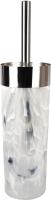 Ершик для унитаза АкваЛиния B2045-Y (белый мрамор) -