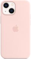 Чехол-накладка Apple Silicone Case With MagSafe для iPhone 13 Mini / MM203 (розовый мел) -