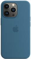 Чехол-накладка Apple Silicone Case With MagSafe для iPhone 13 Pro / MM2G3 (полярная лазурь) -