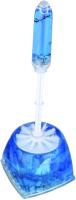 Ершик для унитаза АкваЛиния Ракушки A8762S-1_W16 (синий) -