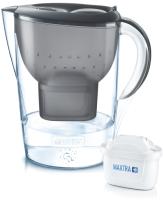 Фильтр питьевой воды Brita Марелла XL Memo MX (графит + 3 картриджа Maxtra+) -