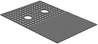 Накладка на зону подключения конвектора Techno SAD-WSK-410 -