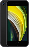 Смартфон Apple iPhone SE 64GB / MHGP3 (черный) + Наушники AirPods 2 / MV7N2 -