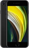 Смартфон Apple iPhone SE 128GB / MHGT3 (черный) + Наушники AirPods 2 / MV7N2 -