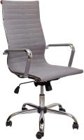 Кресло офисное Седия Elegance Chrome (ткань серый) -