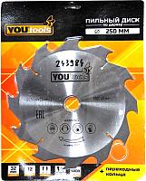 Пильный диск Yourtools Z12 250/32мм -