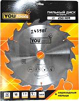 Пильный диск Yourtools Z18 250/32мм -