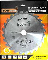 Пильный диск Yourtools Z24 250/32мм -