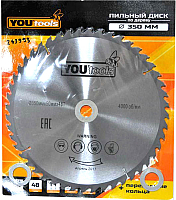 Пильный диск Yourtools Z48 350/50мм -