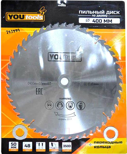 Купить Пильный диск Yourtools, Z48 400/50мм, Китай