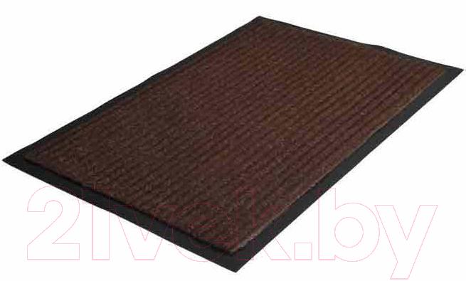 Купить Коврик грязезащитный No Brand, Ребристый 60x90 (коричневый), Россия