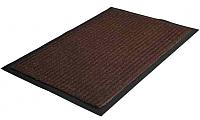 Коврик грязезащитный No Brand Ребристый 60x90 (коричневый) -