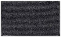 Коврик грязезащитный No Brand Ребристый 90x120 (серый) -