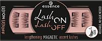 Накладные ресницы магнитные Essence Lash On Lash Off Lengthening Magnetic Accent Lashes тон 02 (4шт) -