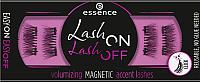 Накладные ресницы магнитные Essence Lash On Lash Off Volumizing Magnetic Accent Lashes тон 01 (4шт) -