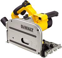 Профессиональная погружная пила DeWalt DWS520K-QS -