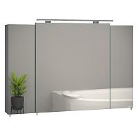 Шкаф с зеркалом для ванной Sanwerk Everest 100 / MV0000778 -